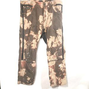 "KUHL Pants Tie Dyed Upcycle 34""x34"" Carpenter"